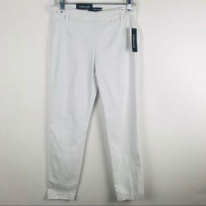Hollywood Medium Ankle Skinny Pull On Sleek Pants